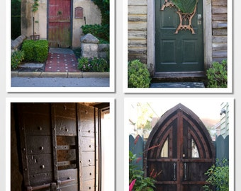 The Doors of St. Augustine Photo Cards