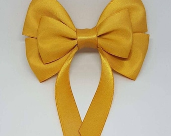 Gold Swallow Tail Hair Bow