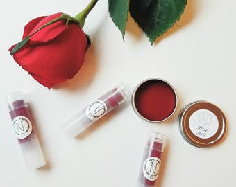 True Red tinted lip balm!!