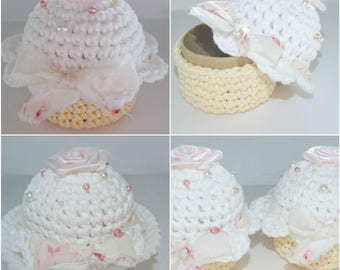 Cupcake Trinket Box, Shabby Chic, gift box, party favor, nursey container