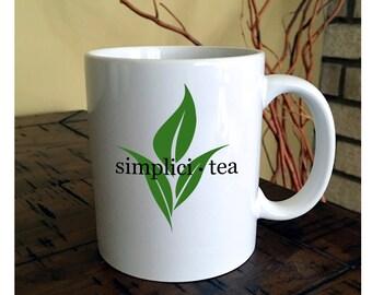 Simplici Tea Mug, Tea Cup, Tea Lover Gift, Simplicity
