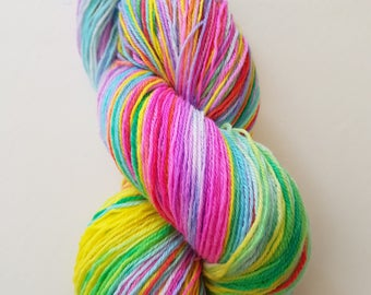 LYDIA. the brush-dyed wool skein