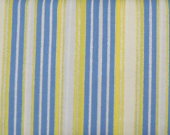 Blank Quilting - Blooming Blossoms - Stripes - BTR4759-M-Yellow - 1 Yard