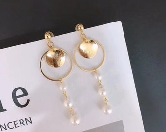 Fantasy Fresh Water Pearl Earrings