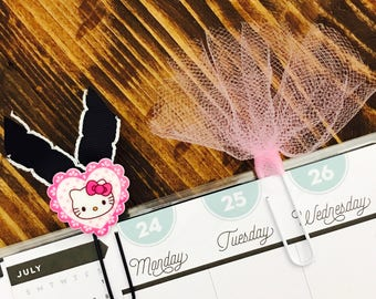 Hello Kitty and Tulle Paperclips