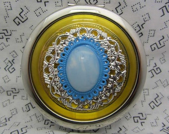 Compact Mirror Bridesmaid Gift Neena Comes With Protective Pouch