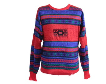 Vintage Meister Ski Sweater Size XL