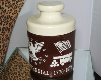 Owens Illinois Glass 1976 BICENTENNIAL JAR