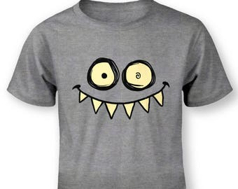 Toothy Monster baby t-shirt
