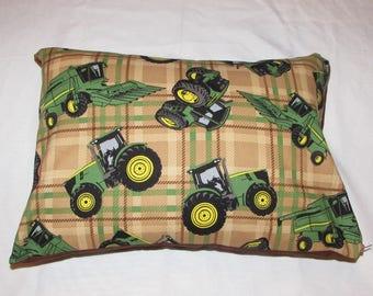 John Deere Tractor toddler pillow