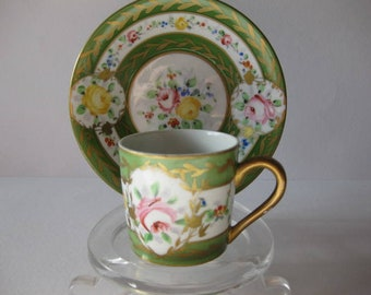 Coffee cup and saucer - Artibus Porcelain Portugal