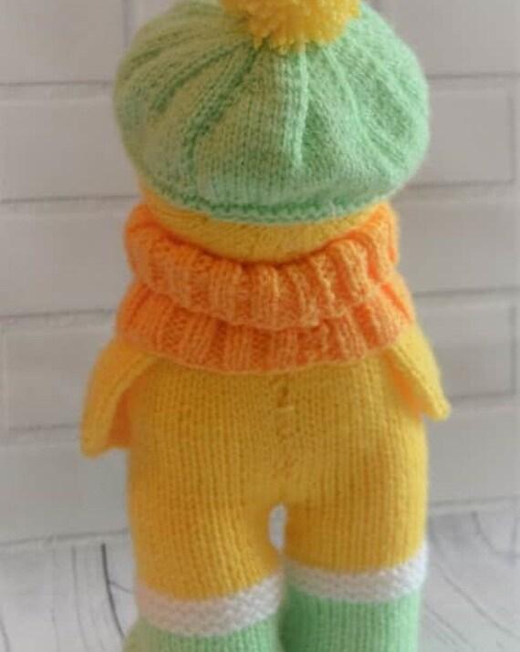 Duck In Boots Knitting Pattern Duck Knitting Pattern Duck Knit