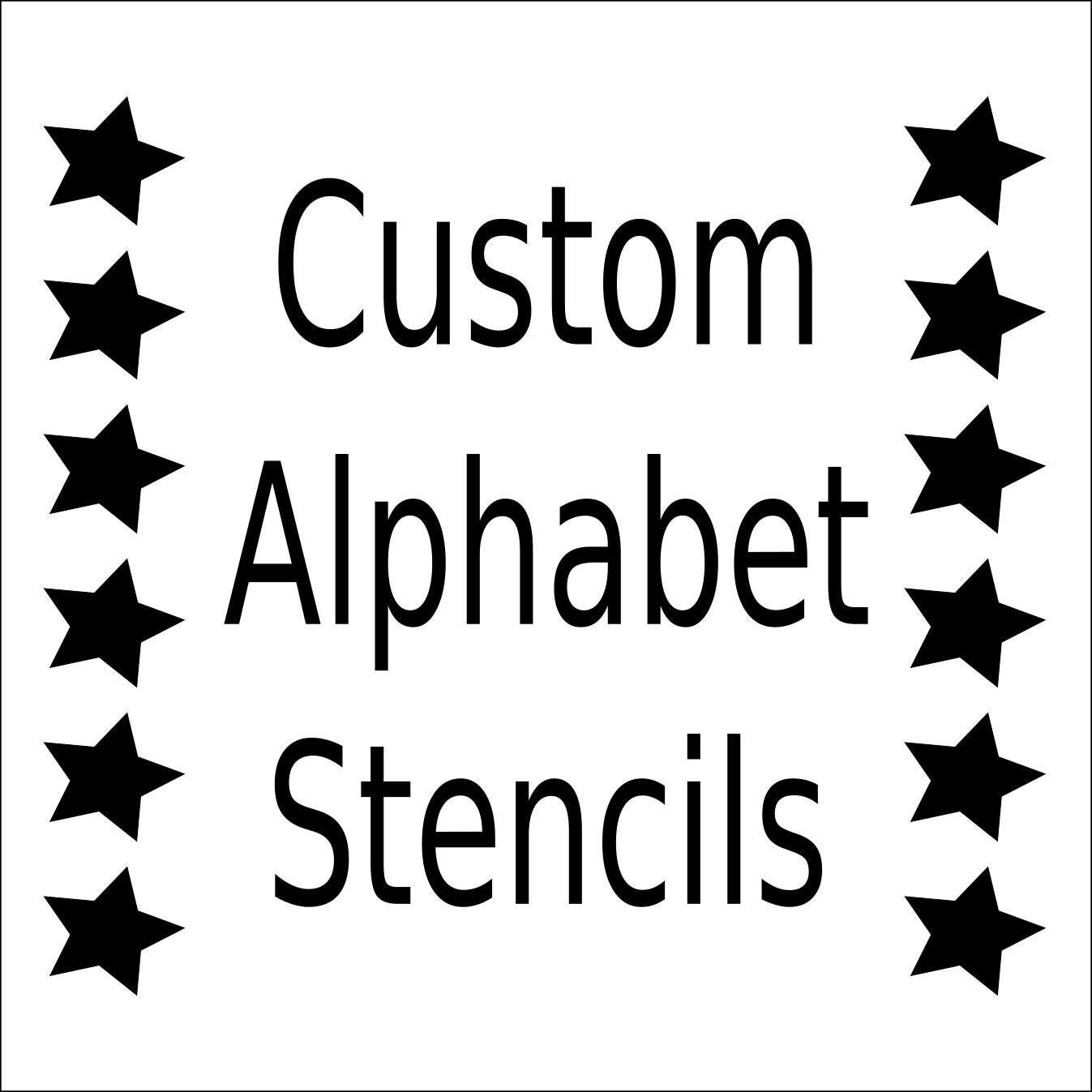 Obsessed image throughout printable font stencils