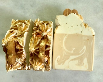 Soap Oatmeal Milk & Honey Artisan Soap, Cold Process Soap, Handcrafted Soap