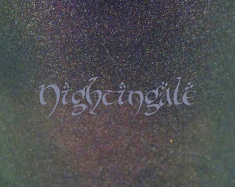 """Nightingale holographic nail polish 15 mL (.5 oz) from the """"Ladies of Middle-Earth"""" Collection"""