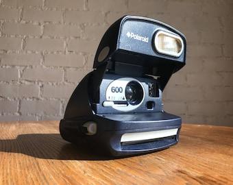 Working Blue  Polaroid 600
