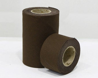 Cotton Bias - Simple Series Dark Brown -  10 Yards - in 4cm or 10cm - by the roll 88096