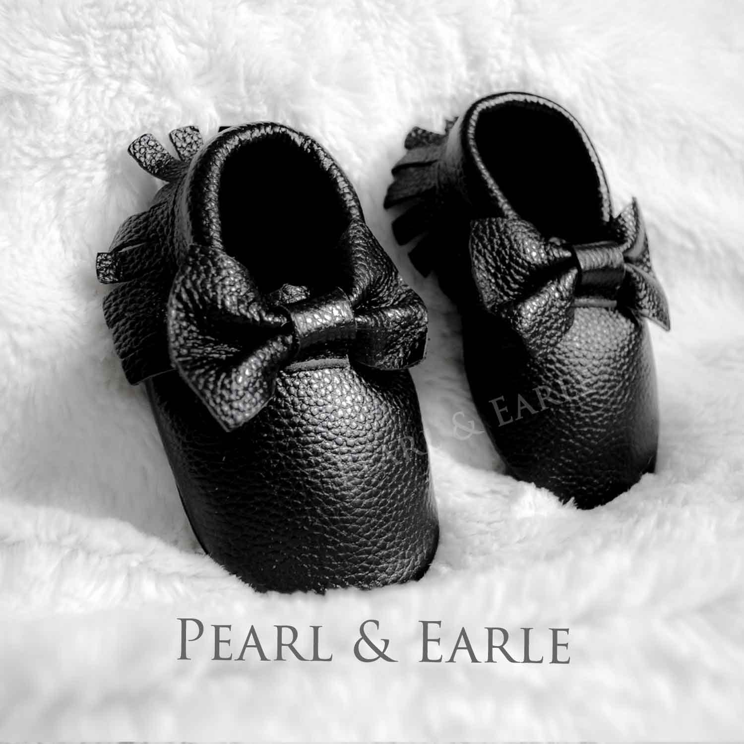 Black Baby Shoes Baby Shoe Toddler Shoe Baby Moccasins