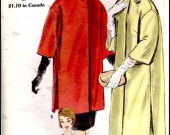 """Vogue 5178  Misses' Coat And Jacket  Bust 34""""  UNCUT"""