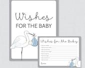 Stork Baby Shower Wishes ...
