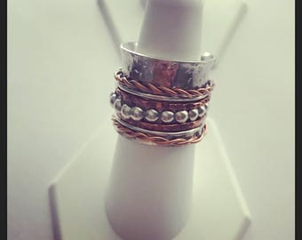 Silver Serenity Ring