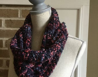 Winter Sunset, Neckwarmer, Cowl