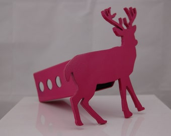 "Pink Buck Deer Hitch Cover, 2"""