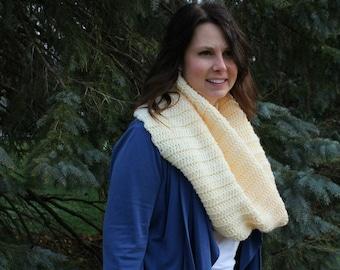 Jordan Cowl | Crochet Pattern | Ribbed Cowl Crochet Pattern | Crochet Ribbed Cowl Pattern | Oversize Ribbed Cowl Pattern | PDF Pattern