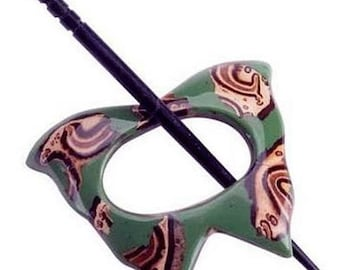Paradise Exotic Shawl Pin series - Alpaco,