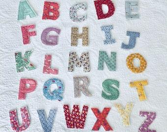 Fabric Magnetic Alphabet