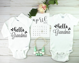 Unique Twin pregnancy announcement
