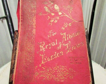 The Royal Album of London Views ephemera