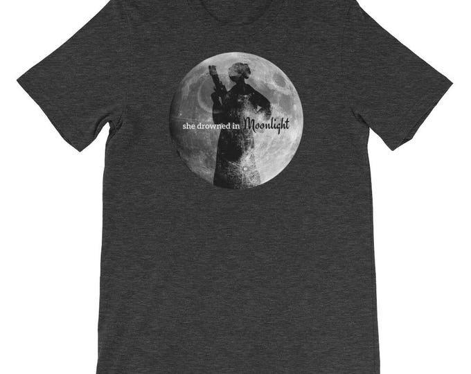 Leia Moonlight Tribute Tee // Star Wars Princess Leia Inspired T-Shirt //