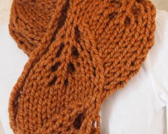 Chunk Cowl Hand Knitting PDF Pattern