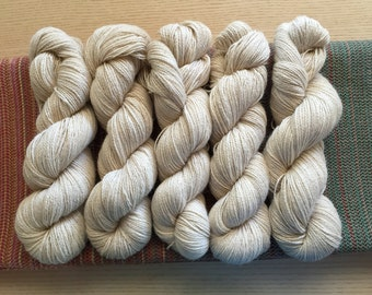 Natural Australian grown and produced alpaca yarn. 4 ply/5 ply. Fingerling, sport.