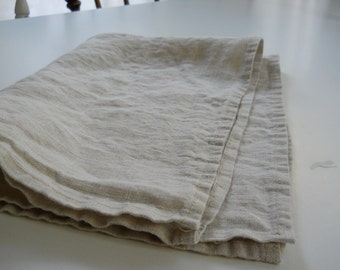 DISH TOWEL.....100% light natural linen set of 2