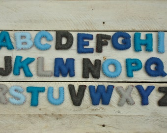 """2"""" Felt Alphabet set"""