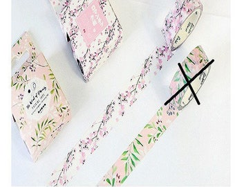 gorgeous 1 roll masking tape (washi) 15mm cherry blossom theme * 7!