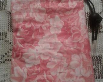Pink Sakura Petals Dice Bag