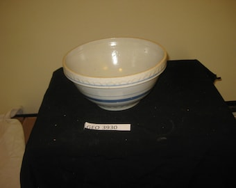 Stoneware banded mixing bowl    [geo3930bs]
