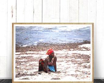 Photography,  Color,African Women,African Decor, African Life  photography, home decor, wall art African art print, art print, photo