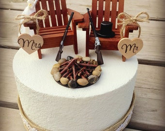Rustic Wedding Cake Toppers Wedding Cake Topper Cabin