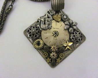 Awesome steampunk necklace