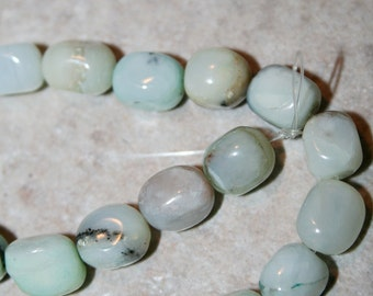 AMAZONITE Irregular Smooth Puffy Square 11mm