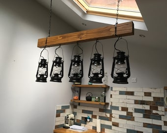 5 Hanging lantern light