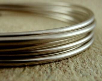 SALE 1 foot -  6 gauge Nickel Silver Wire - 100% Guarantee