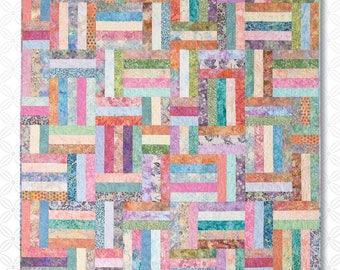 Popsicle Sticks Quilt Pattern by Atkinson Designs