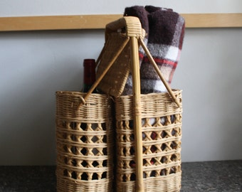 A Wicker Picnic Basket