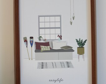 AFFICHE A4 EASYLIFE
