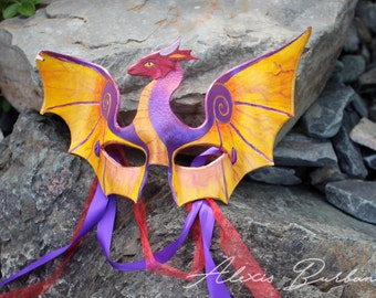 Dragon Masquerade *Custom made to order*